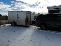 12x6 Enclosed Trailer in Fort Carson, Colorado