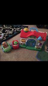 Like new laugh And Learn house with cars in Vacaville, California