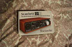 Scarlett 2i2 Audio Recording Interface in Ramstein, Germany