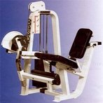 Gym leg machine with weights in Lake Elsinore, California