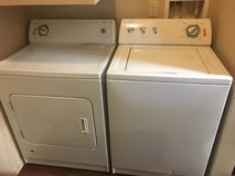 Washer and dryer in San Angelo, Texas