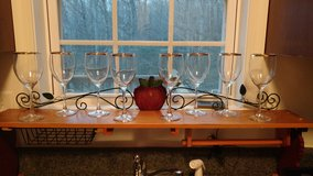 Wine Glasses (8) in bookoo, US