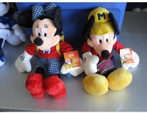 Mickey & Minnie Plush Dolls in Camp Lejeune, North Carolina