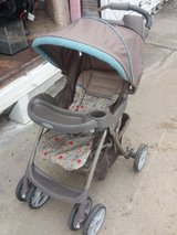Gracing stroller in Fort Riley, Kansas
