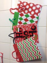 8 Small Christmas Gift bags in Travis AFB, California