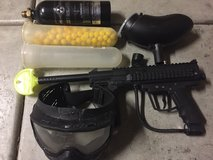 Outcast paint ball gun in Camp Pendleton, California