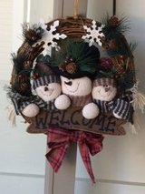 Snowman Wreath in Elizabethtown, Kentucky