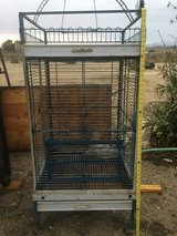 Another big bird cage heavy duty on casters in 29 Palms, California