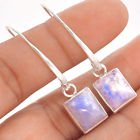 "New - Rainbow Moonstone 1 3/4"" 925 Sterling Silver Earrings in Alamogordo, New Mexico"