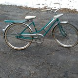 Vintage 70's bicycle in Lockport, Illinois