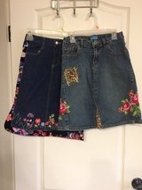 Blue Jean Embroidered Skirts in Fort Campbell, Kentucky
