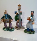 Vintage Colorful Glass Figurines in Chicago, Illinois