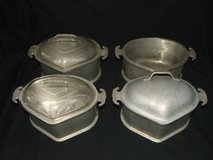 Guardian Service Ware triangle roasting Serving pans Glass & Metal Lid in Naperville, Illinois