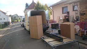 RELIABLE MOVERS/TRANSPORT/DELIVERY/RELOCATION/JUNK REMOVAL in Ramstein, Germany