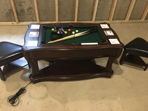 Well Universal 5 in 1 Mini Game table (pool, air hockey, table tennis...) in Glendale Heights, Illinois