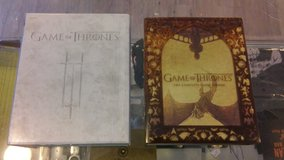 Game of Thrones Seasons 3 and 5 Blu Ray in 29 Palms, California