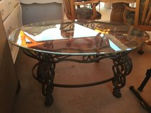 Beautiful center metal glass table in Yucca Valley, California