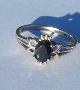 Sterling Silver Sapphire Ring Size ~ 7 in Camp Lejeune, North Carolina