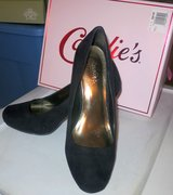 "NEW IN BOX ....CANDIE'S CAVANESSA-ONYX 4"" HEELS in Cherry Point, North Carolina"
