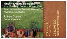 guthrie's home solutions in Cherry Point, North Carolina