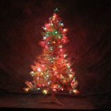 CHRISTMAS TREE with LIGHTS 4 ft. INDIANA SPRUCE in Fairfield, California