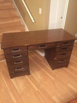 Vintage Executive 8 Drawer Desk by New Directions dmi Furniture in Batavia, Illinois