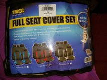 Universal seat cover. Red. 9 piece. Unopened. in DeRidder, Louisiana