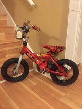 "12"" Huffy Disney Cars Boys / Kids Bike in Batavia, Illinois"