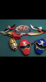 Power Ranger Swords and Masks in Chicago, Illinois