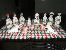 Cute Clay Nativity Set from Mexico in Tinley Park, Illinois