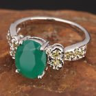 New - Green Quartz and Peridot Silver Ring - Sizes 6 and 9 in Alamogordo, New Mexico