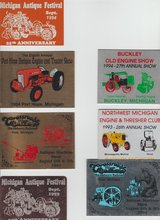 Vintage Signs From Antique Engines and Tractor Shows in Fort Campbell, Kentucky