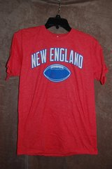 Red T-shirt NEW ENGLAND  Brand new in Bolingbrook, Illinois