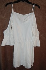 White One piece shirts type Size Small brand new Super cute in Bolingbrook, Illinois