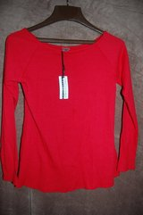 Red shirt Stretchy Brand new! Comfy  Cute Medium in Bolingbrook, Illinois