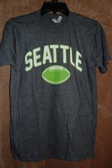 Size Small Football Seattle T Shirt BRAND NEW in Bolingbrook, Illinois