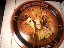 1976 Indiana University Coca Cola NCAA  Metal Tray in Fort Campbell, Kentucky