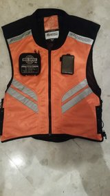 Icon safety vest in Okinawa, Japan