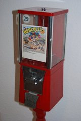 Collectable Eagle (Hercules) Gum Ball Machine with tall stand in Ramstein, Germany