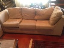 2 piece sectional microfiber couch in Ramstein, Germany