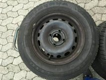Opel Corsa C 155 80 13 79T / 79S M+S Winter Tires on Steel rims in Ramstein, Germany