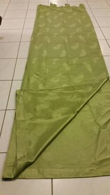 NWOT Green Curtains in Ramstein, Germany