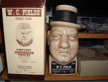 RARE W.C.Fields Kentucky Bourbon Whiskey 4/5 quart Liquor Decanter in Orland Park, Illinois