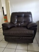Black. Rocking, recliner in Kissimmee, Florida