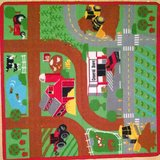 Toy Car Rug Mat in Batavia, Illinois