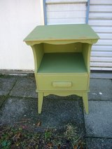 Vintage Painted and Distressed Night Stand/Side Table in Camp Lejeune, North Carolina