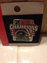 **** SEAHAWKS CHAMPIONS Lapel Pins (NEW) **** 3 for $10 in Fort Lewis, Washington