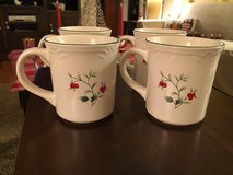 New Pfaltzgraff Winterberry Mugs in Batavia, Illinois