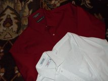 Boy's L/S Dress Shirts Red & White (IZOD/Dockers) in Camp Lejeune, North Carolina