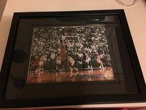 Michael Jordan frame in Fort Hood, Texas